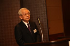 Congratulatory talk by Dr. Kunio Tada on behalf of the guests for Group A