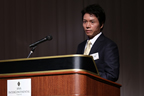 Additional speech regarding achievements of Prof. Hinton, presented by Dr. Naonori Ueda